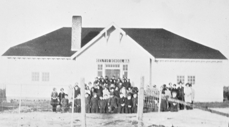 Students outside Celtic School