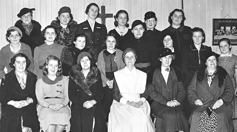 Nursing class at Vancouver residence